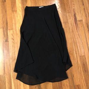 Women's Lush brand black skirt